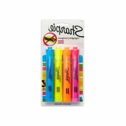 Sharpie Accent Highlighters 4 Pack Neon Pink Orange Yellow B
