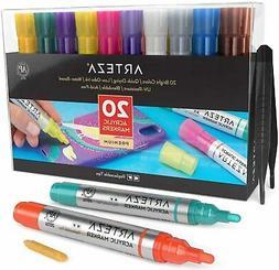 Arteza Acrylic Markers - Set of 20
