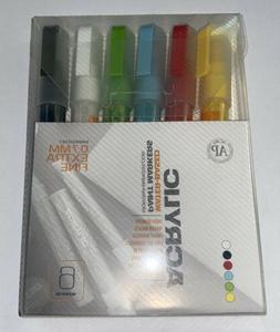 Montana Acrylic Paint Marker 6 Set 0.7Mm