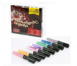 Acrylic Paint Markers Pens Set - Fine Tip Art Permanent Pain
