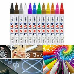 Acrylic Paint Markers Pens Set Medium Tip Art Permanent Pain