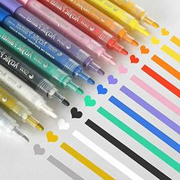 Acrylic Paint Markers Set - Permanent Paint Pens for Plastic