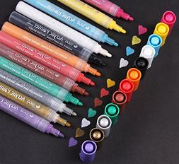 Acrylic Paint Pen for Ceramic Painting - Permanent Acrylic M