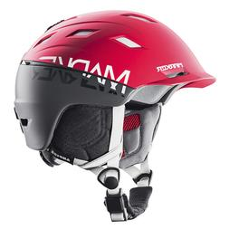 Marker Ampire Helmet 2 Block Red/Steel Grey, M