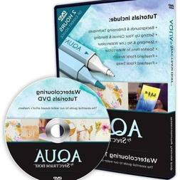 aqua by spectrum noir watercolouring tutorials dvd