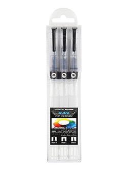 Molotow Premium Aqua Squeeze Pen Basic Set of 3 Empty Refill