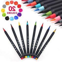 Watercolor Brush Marker Pen For Coloring Book Manga Comic Ca