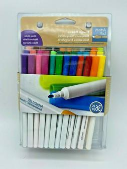Artist's Loft 36 Color Mixed Media Triangle Marker Set - Bra