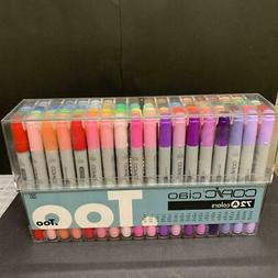 Copic Premium Artist Markers - 72 color Set A - Intermediate