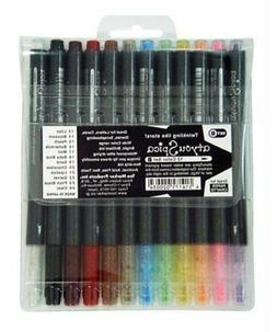 Copic Atyou Spica Glitter Pen Set B One Each Of 12 Colors  G