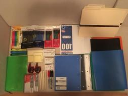 Back to School, office Supplies LO, Notebooks, Pencils, Mark