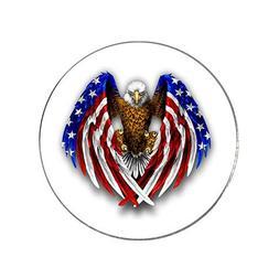 Bald Eagle USA Flag Patriots Magnetic Golf Ball Marker - Hig