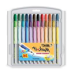 BIC Mark-It color collection permanent marker, Fine Point, A