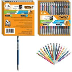 Bic Mechanical Pencil #2 Extra Smooth, Variety Bulk Pack Of