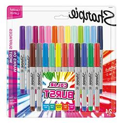 Sharpie 1949558 Color Burst Permanent Markers, Ultra Fine Po
