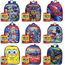 "Boys 12"" Backpack and Markers Set Avengers Toy Story Mickey"