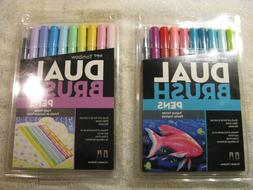 Brand New Tombow Dual Brush Pens  Tropical  and Pastel Sets