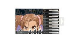 BRAND NEW Prismacolor Illustration Markers Manga 8ct Set Bru