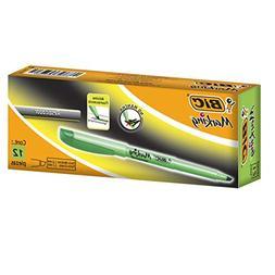Brite Liner Highlighter, Chisel Tip, Fluorescent Green Ink,