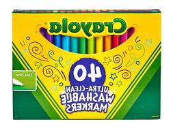 Crayola Broad Line Ultra Clean Washable Childrens Drawing Ma