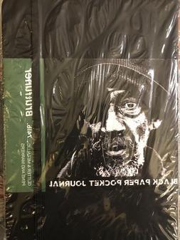 BRUTFUNER Black Paper Pocket Journal  * Gel,Glitter & Metall