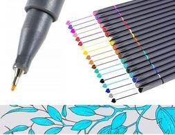 Bullet Journal Planner Pens Colored Fine Tip Drawing Pen Mar