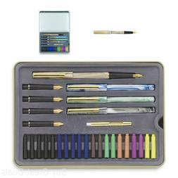 STAEDTLER calligraphy pen set, Complete 33 piece tin, ideal