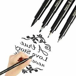 Calligraphy Pens Hand Lettering Brush Markers For Beginners