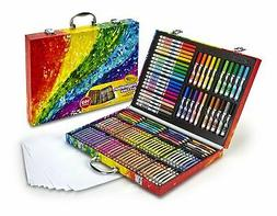 Art Case Tools 140 Pieces Crayons Colored Pencils Washable M