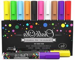 Chalk Markers Pens 10 Pack Neon Color Chalkboard Whiteboard