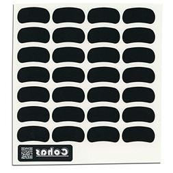 Cohas Chalkboard Eye Black Stickers for Youth and Adults Inc