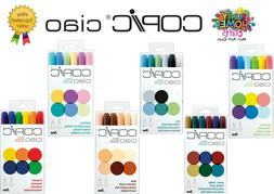 Copic ciao 6pcs, Skin, Sea, Primary, Brights, Jewel, Pastels