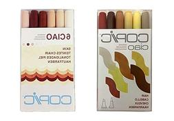 Copic Ciao Marker Set 6 Hair & Skin