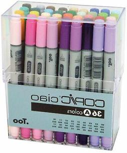Copic Ciao Markers Set - 36PK/Basic