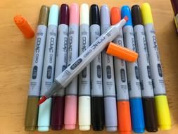 COPIC CIAO Too NEW *YOU CHOOSE* Twin Tip Marker Pens Many Co