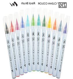 ZIG Kuretake Clean Colour Real Brush Pen: 010, 090-099, 900-