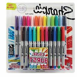 SHARPIE COLOR BURST 24 PAK ULTRA FINE PERMANENT MARKERS LTD
