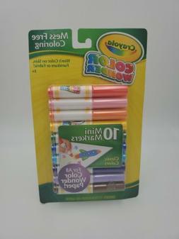Crayola Color Wonder 10 Mini Markers Classic Colors 75-2211