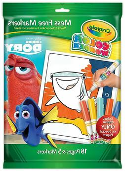 Crayola Color Wonder Mess-Free Finding Dory Coloring Book Se