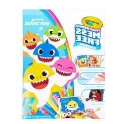 CRAYOLA COLOR WONDER pinkfong BABY SHARK~INCLUDES 18PGS & 5