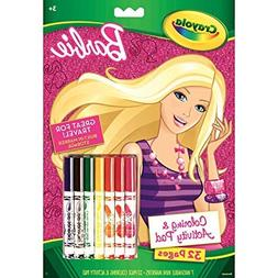 Crayola Coloring & Activity Pad Barbie 1 CT