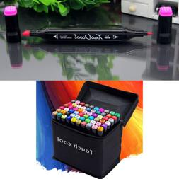 24-80 Color Markers Pen Touch Five Graphic Art Sketch Twin T