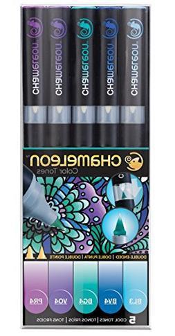 Chameleon Art Products, Chameleon 5-Pen, Cool Tones Set