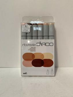 Copic Markers 6-Piece Sketch Set Skin Tones — FREE SHIPPIN