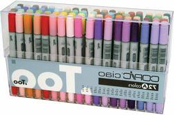 Copic Premium Artist Markers - 72 color Set A - Intermediate