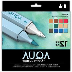 crafter s companion spectrum noir aqua markers