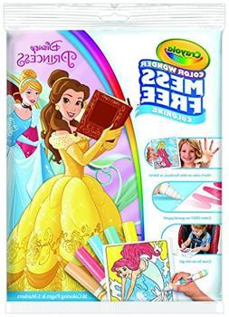 Crayola Mess Free Color Wonder Princess Markers and Coloring