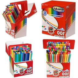 Crayola Super Tips Washable Markers, 100 Count, Bulk, Great