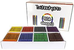 408-Count Crayon Premium Class Pack, Best-Buy Assortment  SA