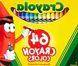 Crayola 2 Pack 64 Ct Crayons